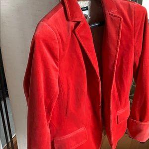 J. Crew velvet blazer, 10